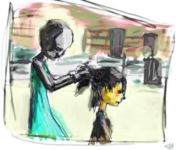 DSG 190: Robot based: Female inspired robot